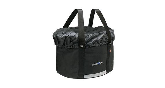 KlickFix Shopper Plus pyörälaukku , musta